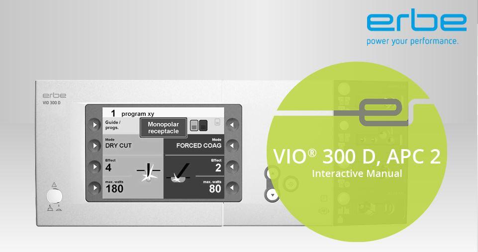 interactive product documentation erbe elektromedizin gmbh rh de erbe med com erbe vio apc 2 service manual Erbe Generator